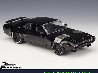 "Plymouth GTX -авто из кинофильма ""Форсаж-8"" Масштаб 1/24. Поставляю модели на заказ."