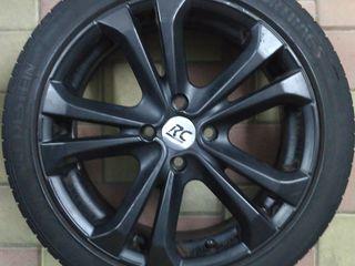 4x100. Легкосплавные колеса RC Design 195 45 R16. VW, Opel, Nissan, Mazda, Honda, Mitsubishi...
