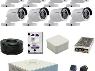Instalez camere de supraveghere video și interfoane.