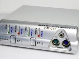 Автоматические переключатели системных блоков Gembird CAS-241
