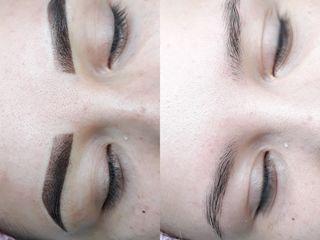 Пудровое напыление бровей, губ, глаз. Powder Brows & Lips