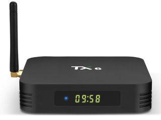 """Tvbox tanix tx6-p allwinner h6 2gb 16gb 2.4g wifi android 4k """"в наличии"""""""