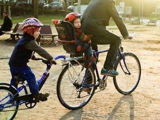 велосипед - тандем для детей
