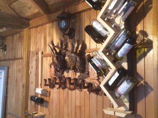 Rafturi pentru vin din lemn masiv,Suport din lemn,decor,работы по дереву