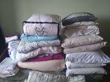 Срочно!!!подушки, матрац, одеяла, постельное белье