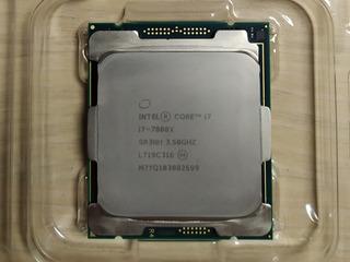 Процессор Intel I7 7800X 8,25 M 6 Core 12 Thread LGA2066 3,5 Ghz