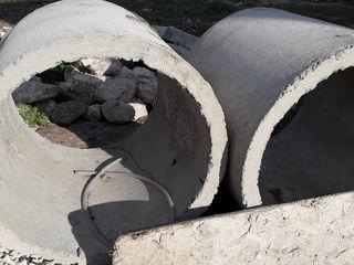 Se vind 2 inele de beton  la pret de 500 lei noi....