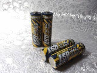 Аккумуляторы Turnigy AA LSD 2550mAh с низким саморазрядом