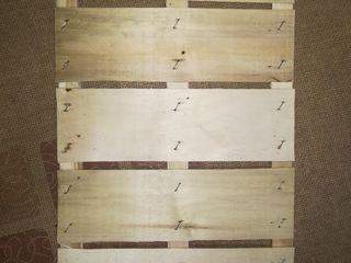 Fund din lemn pentru ladă