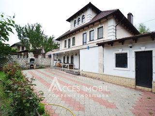 3 floors house! Durlesti, Decebal street, 220m2 + 7 aries! Euro Repair!