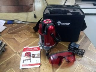 DEKO LL56 5 линий 6 очков лазерный уровень автоматическое самонивелирование 360