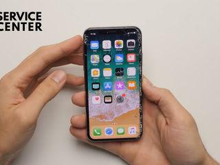 Iphone X Разбил стекло - заменим его!