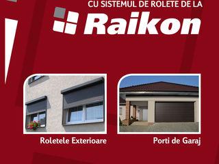 Rolete exterioare pentru uși, ferestre, spații comerciale; porți secționate!
