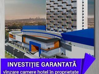Apartament 2 camere în hotel Cosmos - venit din chirie pînă la 1 058 Euro lunar garantat.