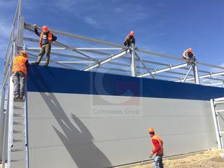 Сэндвич-панели для стен и крыши