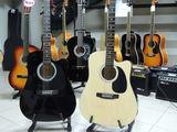 Электроакустическая гитара Fender Squier !
