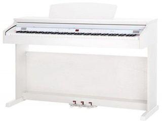 Pian digital cu scaun alb flame slp 50 wh - pian digital set