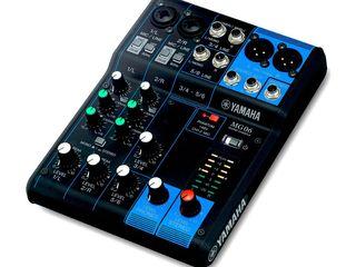 Mixer analogic Yamaha MG06. livrare în toată Moldova,plata la primire