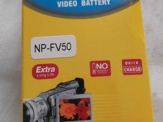 New !!! Video battery np-fv50 для видео камеры.
