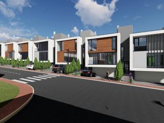 Townhouse în zonă de elită lîngă padure la preț de apartament.