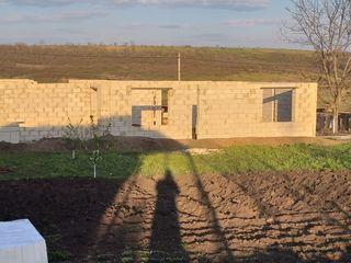 Продам участок с коробкой в Бубуечь есть проект дома
