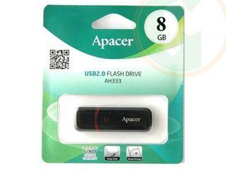 Apacer USB flash 2.0 8 GB - 90 лей,16 GB - 110 лей, 32 GB- 130 лей,64 GB- 170 лей