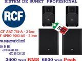 SISTEM DE SUNET PROFESIONAL RCF - Профессиональные звуковые оборудование RCF - 6800 Watt Peak