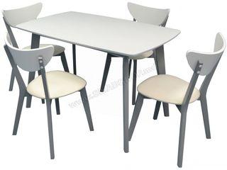 Masa + 4 scaune - Ieftin / Credit / Livrare!