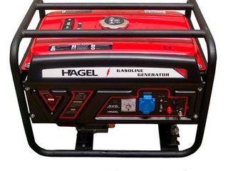 Generator 2.8kW 220V Hagel DTF3500 benzina/Livrare gratuita/Garantie 12 luni/Credit/4689 lei