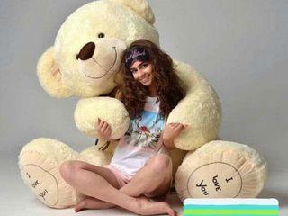 Urşi Gigant cu inscripție -  I LOVE YOU