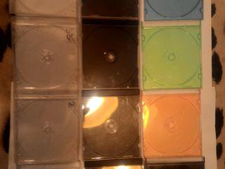 Коробочки для дисков б/у