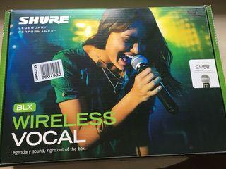 Продается срочно Радиомикрофон SHURE BLX24E/SM58!!!абсолютно новый!!!