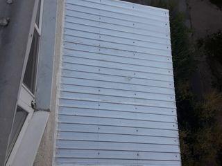 Facem acoperisuri din metal la balcoane si reparam acoperisuri