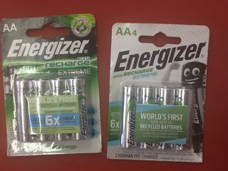 Energizer rechargeable extreme AA 2300Mah