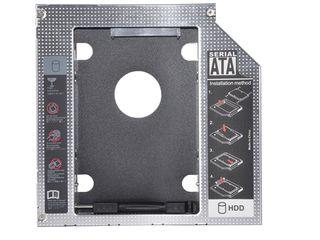 DVD Карман для второго HDD, SSD 2,5 SATA (Новый) Caddy 9,5мм!