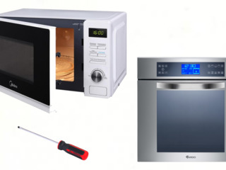 Срочный ремонт микроволновок электро духовок мультиварок(теле видео аудио аппаратуры)