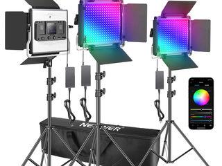 Lumină profesională LED 530 RGB, SET