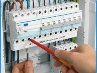 Montarea reţelei electrice repararea reţelei electrice montarea automatelor montarea transformatoare