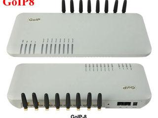 GSM шлюз 8 SIM-карт GoIP8