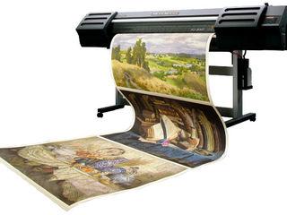 Печать фотографий на фотобумаге и на холсте