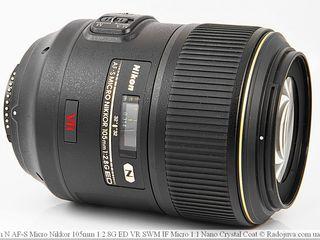 Nikon AF-S VR Micro-Nikkor 105mm F / 2.8G IF-ED