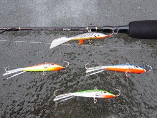 Балансиры для зимней рыбалки Lucky John Classic и Mebaru