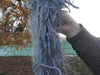 Сети - рыболовные с паянными в шнур поплавками и грузилами - успей купить осталось очень мало