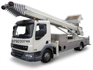 Lift mobil exterior pentru materiale de constructie