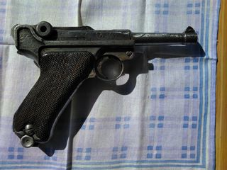 Mauser Luger P 08,1938 With Holster