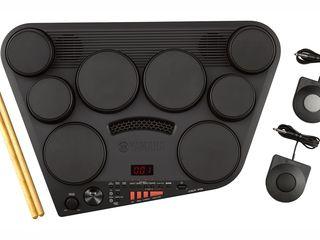 Yamaha DD-75 - tobe electronice în format compact, 8 pad-uri, 2 pedale, 570 voci