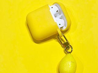 Желтые аирподс