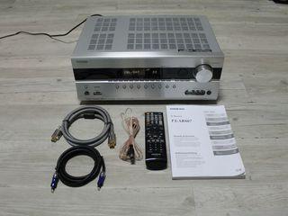 Onkyo TX-SR607, 7.2 AV-Receiver, HDMI и аксессуары. Ресивер.