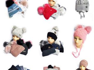 Шапки детские, подростковые, женские, хомуты, шарфы высшего качества оптом от производителя
