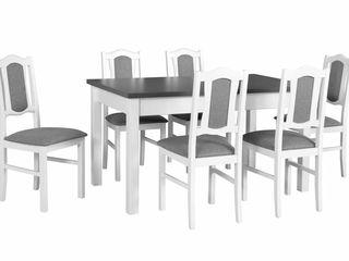Mese și scaune din lemn de fag